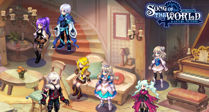 Song of The World เกม 2D Action RPG ที่สาย Cute ต้องกด Love