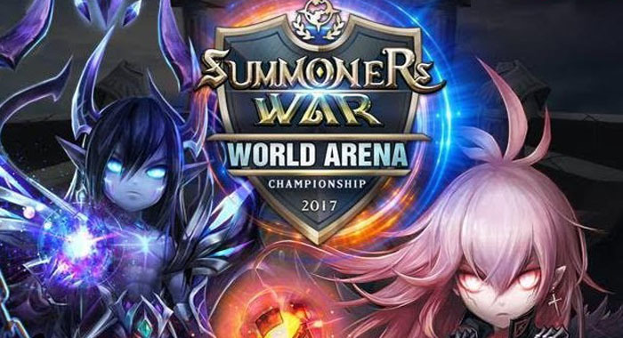 Com2uS ประกาศจัดงานแข่ง e-sports Summoners War World Arena Championship 2017!!