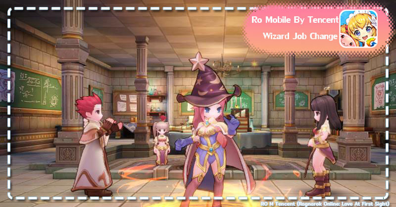 Ro Mobile Love At First Sight เปลี่ยนอาชีพ Wizard