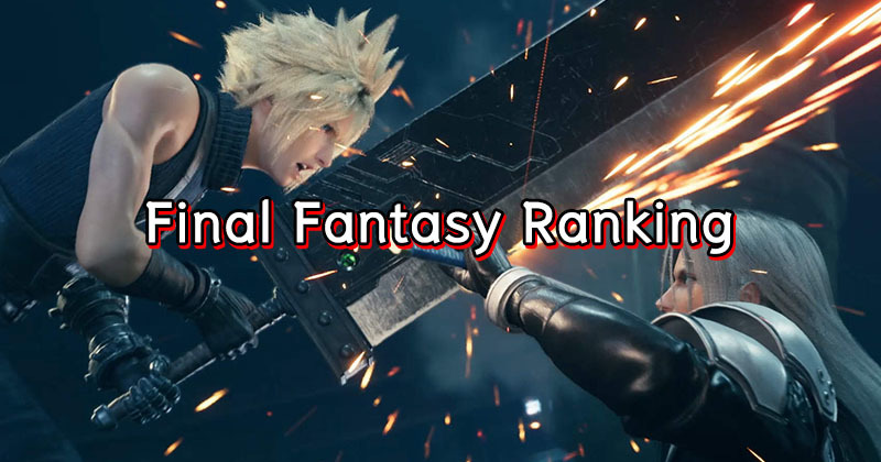 16 อันดับ Final Fantasy Series จาก PlayStation Official Magazine