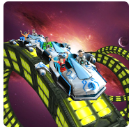 Roller Coaster Simulator Space