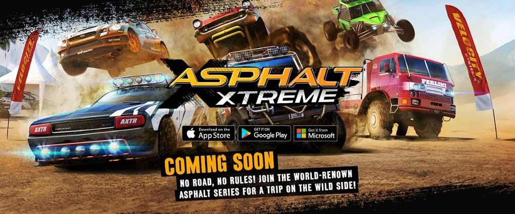 เตรียมตัวกันให้พร้อม !! อย่าง Asphalt Xtreme  เปิดให้ Pre Register แล้ว !!