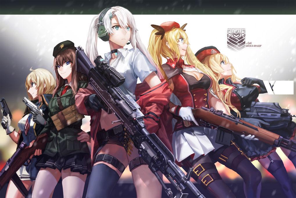 ผู้หลงใหลอาวุธและสาวน้อยควรต้องเล่น !! Girls Frontline เกมสาวปืนดี ๆ ที่พลาดแล้วจะเสียใจ !!
