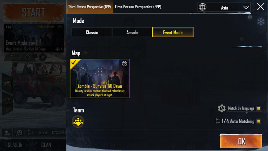 ตะลุยโหมด Zombie Wars จาก RE2 ใน PUBG Mobile แพตช์ล่าสุดก่อน