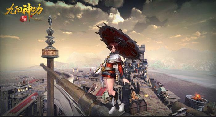 ... ทุ่งหญ้าข้างทาง หุบเขาลึกลับ ใหญ่โตกว้างขวางราวกับเป็นเกม Open World  แต่นี่คือ MOBA ที่ยิ่งใหญ่ที่สุดบนระบบมือถือ นามนั้นคือ 9Yin Origin - King  of Wushu ...
